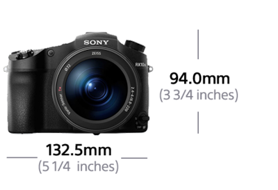 Picture of RX10 III with F2.4-4 large-aperture 24-600mm zoom lens
