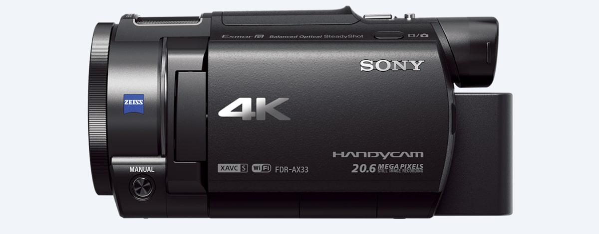 Sony AX33 4K Handycam® with Exmor R™ CMOS sensor