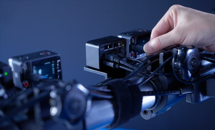 ความแม่นยำของกล้องหลายตัวผ่านการเชื่อมต่อ IP