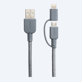 Picture of Premium 2-in-1 Lightning and Micro USB cable