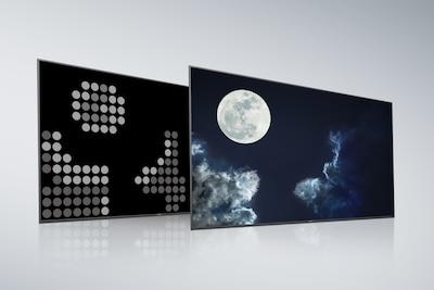 แผงพาเนลด้านหลังและหน้าจอของ Full Array LED ทั่วไป