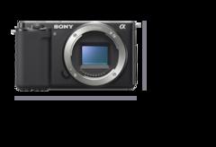 มุมมองด้านหน้าของกล้องพร้อมขนาดความกว้าง 115.2 มม. (4 5/8 นิ้ว) และความสูง 64.2 มม. (2 5/8 นิ้ว)