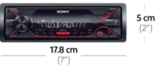 Picture of DSX-A110U Media receiver with USB