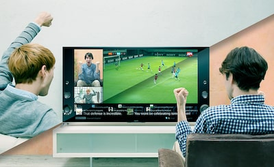 Social sharing on Sony's smart 3D TVs