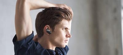 ภาพของ หูฟังป้องกันเสียงรบกวนไร้สายสำหรับกีฬา