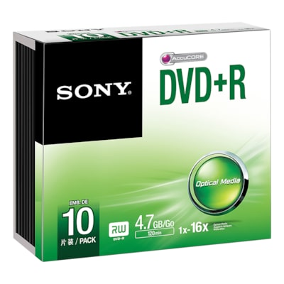 Picture of DVD+R Single Pack