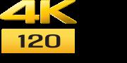 โลโก้ 4k 120