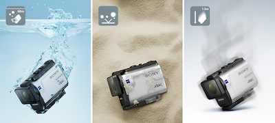 ภาพของ กล้อง Action Cam 4K FDR-X3000 พร้อม Wi-Fi และ GPS