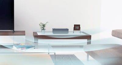 Wide listening area from a wireless Bluetooth speaker for room-filling sound