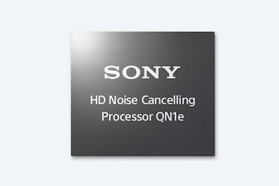 โลโก้โปรเซสเซอร์ป้องกันเสียงรบกวนความละเอียดสูง QN1e ของ Sony