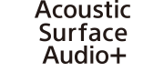 โลโก้ Acoustic Surface Audio+
