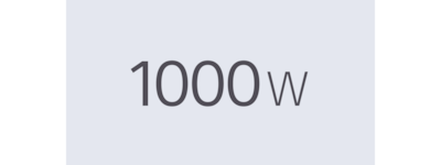 1000w power icon