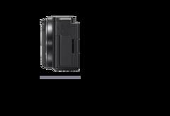 กล้องที่มีมุมมองด้านขวาพร้อมขนาดความลึก 44.8 มม. (1 13/16 นิ้ว)