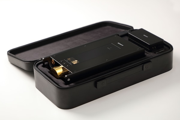 DMP-Z1 in carrying case