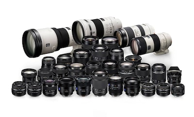 An A-mount lens for every occasion