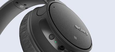 ภาพของ หูฟังป้องกันเสียงรบกวนแบบไร้สาย WH-CH700N